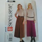 See & Sew 3944 Easy Top Skirt Culottes Pattern 14 16 18 uncut