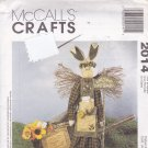 McCall's Crafts 2014 Uncut 36 inch Bunny Garden Angel Decoration Dolls