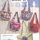 Simplicity 3822 Pattern Crafty Bags Faith Van Zanten Uncut
