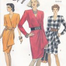 Vogue 8225 Pattern 8 10 12 Easy Mock Wrap Dress Uncut