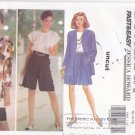 Butterick 5993 Easy Pattern 12 14 16 Jacket Top Shorts Jessica Howard Uncut Separates
