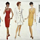 Butterick 3941 Pattern 12 14 16 Classic Dress Jacket Uncut