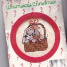 New Berlin Co. Counted Cross Stitch Ornament Kit 033117 Bunny in Basket