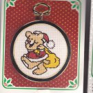 New Berlin Co. Counted Cross Stitch Ornament Kit 30100 Bear with Sack