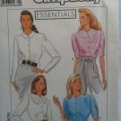 Simplicity Essentials 9412 sewing blouse pattern size H (6 8 10) uncut