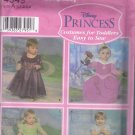 Simplicity 4949  Disney Princess Dress Costume Pattern 1/2 1 2 3 4 Uncut Easy