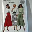 Butterick 6286 Pattern Flared Bias Skirts 18-20-22 Plus Uncut