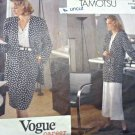 Vogue 2493 Career Separates Tamotsu Jacket Skirt Culottes 12 14 16 Uncut
