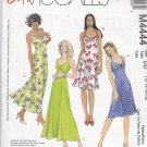 McCall's M4444 Uncut 12 14 16 18 Sweetheart Halter Dress Laura Ashley