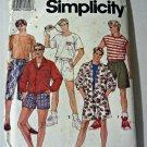 Simplicity 7731 Uncut Men's Shorts Shirt Jacket L XL 42 44 46 48