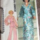 Simplicity 7259 Uncut 14 Wide Leg Pants Long Skirt Top 1970s
