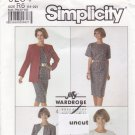 Simplicity Pattern 9254 Skirt Top Unlined Jacket 14 16 18 20 22 Uncut
