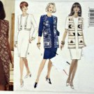 Butterick 3940 Easy Pattern 14 16 18 Classic Dress w/ Overlay Uncut