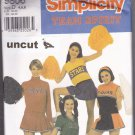 Simplicity 9806 Pattern Uncut Cheerleader Costume Outfit Uniform Skirt 4 6 8