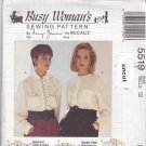 McCall 5519 Pattern 12 Loose Fitting Blouse Nancy Zieman Busy Woman's Fast Uncut