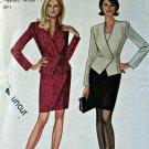 Simplicity New Look 6578 Pattern Unlined Jacket Skirt 2-Piece Dress 8 10 12 14 16 18 Uncut