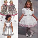 Simplicity 7028 Pattern Uncut 2 3 4 Dress Jacket Girls Toddlers