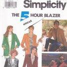 Simplicity 7522 uncut 10 12 14 16 5 Hour Blazer Jacket