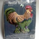 Needle Treasures Needlepoint Kit Rex Rooster to make 11 inch pillow