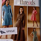 Simplicity Pattern 2996 Dress by Cup Size 8 10 12 14 16 Threads Uncut