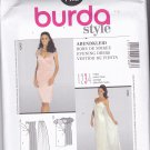 Burda Style 7403 Pattern Uncut 6 8 10 12 14 16 Wedding Bridal Evening Formal Dress with Train