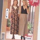 Stitch N Save P300 10 12 14 16 Uncut Jumper Top Easy to Sew Modest Midi Dress