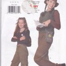 Butterick 5761 Pattern junior jeans sewing size 1 2 3 4 5 6 7 8 uncut