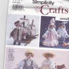 "Simplicity 7711 Pattern 13"" Bear Historical Clothes uncut Alexia Roosevelt"