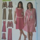 Simplicity 4505 Pattern Skirt Jacket Pants Dress 20 22 24 26 28 Uncut
