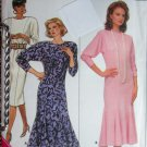 Butterick 4027 Flared or Straight Dress Sewing Pattern size 12-14-16 uncut