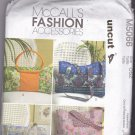 McCall M5066 Pattern Handbag Purse Tote Wallet Duffel Bag Quilted Uncut