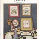 Plain & Fancy Folk 1 Cross Stitch Chart Booklet Jeremiah Junction