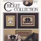 Cross Eyed Cricket Collection 15 Just Plain Friends Cross Stitch leaflet