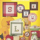 Kitchen Alphabet Cross Stitch pattern leaflet Leisure Arts 252