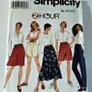 Simplicity Pattern 7247 Skirt Pants Shorts L XL (18 20 22 24) Plus Uncut