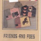 Osage County Quilt Factory Collar Pattern Friends and Foes Election Uncut USA