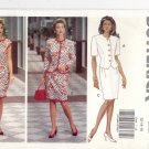 Butterick 5906 Pattern 12 14 16 Uncut Easy Jacket Dress optional rickrack