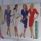 Butterick Dress Pattern 3130 size 12 14 16 uncut huge shoulder pads