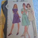 Vintage McCall 3101 easy sewing dress tunic pants pattern size 12 uncut 1972