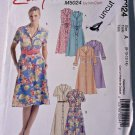 Easy Stitch N Save Pattern M5024 Shirtdress Dress 8 10 12 14 Uncut