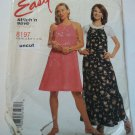 Stitch 'N Save 8197 Easy Pullover Dress Pattern 8 10 12 14 uncut