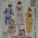 McCall 5702 Pattern Rhumba Pants Pajamas Nightgown Uncut 1/2-1-2 Little Raggedys
