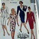 McCall 5249 Pattern Unlined Jacket Skirt 2 Piece Dress 14 Uncut Fashion Basics