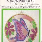 "Gallery Glass Painting Pattern Butterfly 15201-14"" Chris Gleaton Plaid"