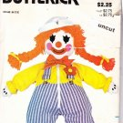 Butterick 3510 Pattern Clown Dressing Zipper Button Learning Doll uncut
