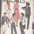 McCall's 7529 Uncut 18 Jones New York Jacket Shirt Skirt Pants Career Separates