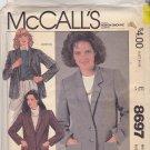McCall's 8697 Uncut 14 Unlined Notch Collar Jacket Palmer & Pletsch