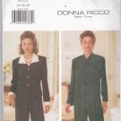 Butterick Pattern 4671 Uncut 14 16 18 Donna Ricco Top and Pants