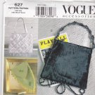 Vogue 627 Pattern Uncut Lined Beaded Evening Bags Purses