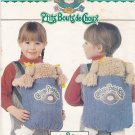 Butterick 6662 Pattern Uncut Cabbage Patch Kids Baby Doll Carrier with 2 transfers